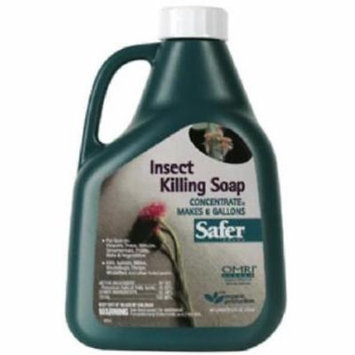 Safer 16 OZ Insecticidal Soap Concentrate Biodegradable 2PK