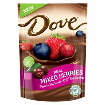 DOVE Fruit Dark Chocolate with Real Mixed Berries 6 oz