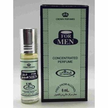 For Men- 6ml (.2 oz) Perfume Oil by Al-Rehab-3 pack