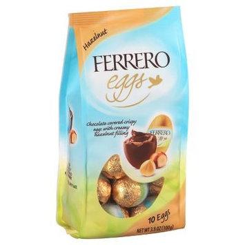 Ferrero Rocher Easter Hazelnut Truffle Eggs, 10 eggs per Bag, 3.5 oz (Pack of 4 Bags)