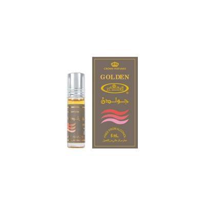 Golden - 6ml (.2 oz) Perfume Oil by Al-Rehab-3 pack