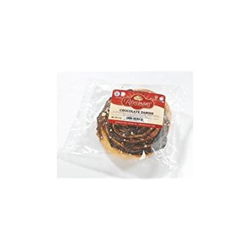Reisman's Chocolate Danish 3 Oz. Pack Of 3.