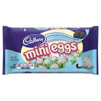 Cadbury Easter Chocolate Crunch & Crème Mini Eggs, 9 oz, Pack of 4