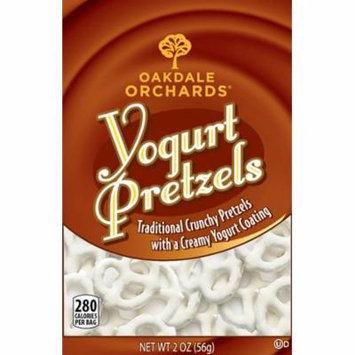 Oakdale Orchards 2 oz Yogurt Pretzel & Nutrition Facts, Pack of 48