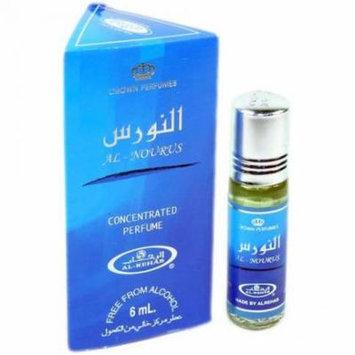 Al Nourus for Men - 6ml (.2 oz) Perfume Oil by Al-Rehab-3 pack