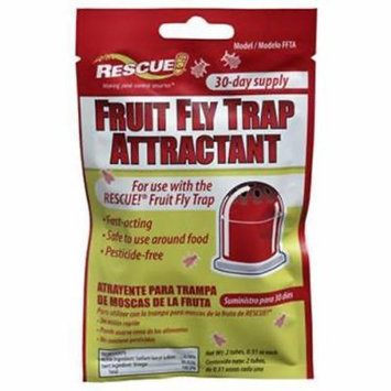 Fruit Fly Trap Refill Includes Two .51 OZ Attractant Packs 4PK