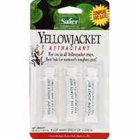 3pc Safer Yellow Jacket Wasp/Trap Bait 2PK