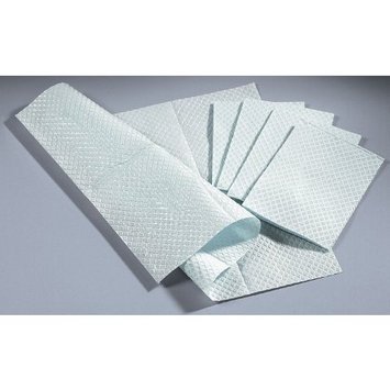 NON24356W - 2-Ply Tissue/Poly Professional Towels,White,Not Applicable