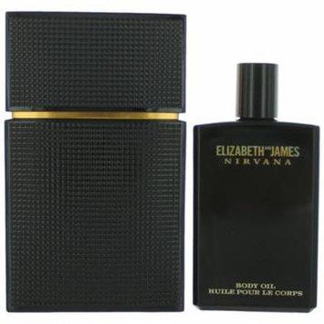 GIFT/SET ELIZABETH and JAMES NIRVANA BLACK FOR HER 3.4 FL By ELIZABETH and JAMES For Women