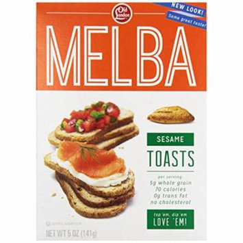 Old London Melba Toasts, Sesame, 5 Ounce