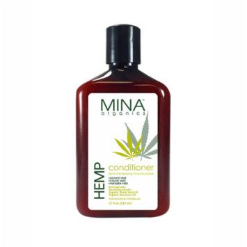 Mina Organics Hemp Conditioner 12oz Paraben & Sulfate Free All Natural