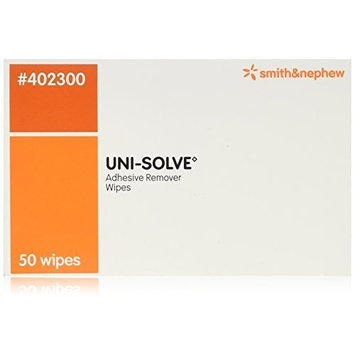 Uni-Solve Adhesive Remover Wipes [402300] 50 ct - Buy Packs and SAVE (Pack of 4)