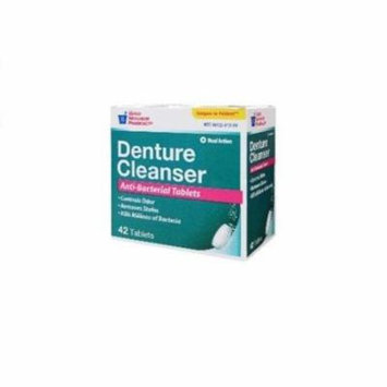 GNP DENTURE Cleaner Dual ACTION 42 tablets