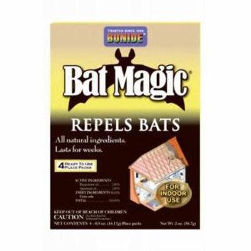 4pc Bat Magic Bat Repellent Safely Repels Bats From Attics 2PK