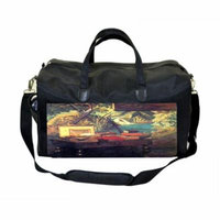 Claude Monet The Artists Atelier Large Black Duffel Style Diaper Baby Bag