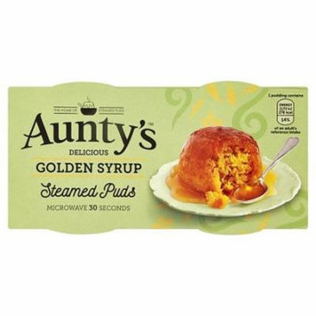 Aunty's Steamed Golden Syrup Puddings 2x95g (Pack of 2)