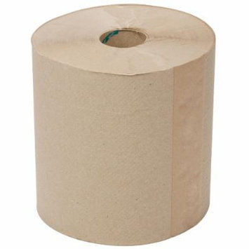 TableTop King 800' Natural Brown Kraft Hardwound Roll Paper Towel - 6/Case