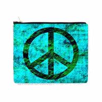 Grunge Peace Symbol - Double Sided 6.5