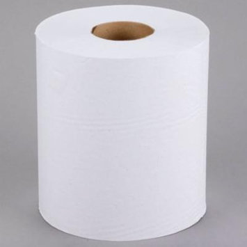 TableTop King 1-Ply White Center Pull Paper Towel 990' Roll - 6/Case