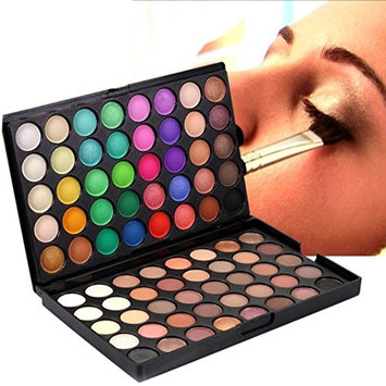 Laimeng,80 Colors Cream Eyeshadow Palette Cosmetic Matte Shimmer Eye Shadow Makeup Set