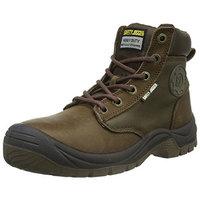 Safety Jogger DAKAR, Unisex-adult safety shoes, brown (019), 38 EU (5 adult UK)