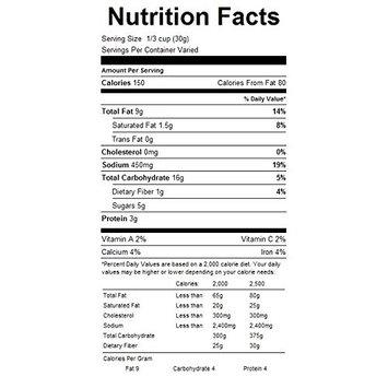 Trail & Snack Mixes (Lousiana Cajun, Case)