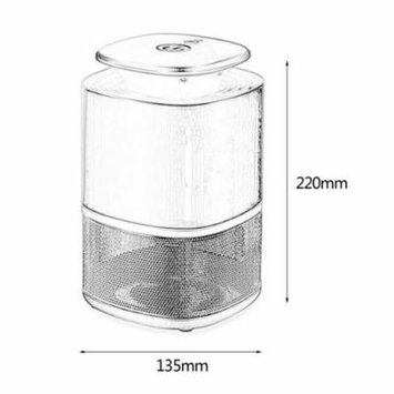 USB Photocatalyst Mosquito Lamp Home LED Insect Killer Lamp Electric Indoor Shock Mosquito Lamp Bug Zapper Lamp