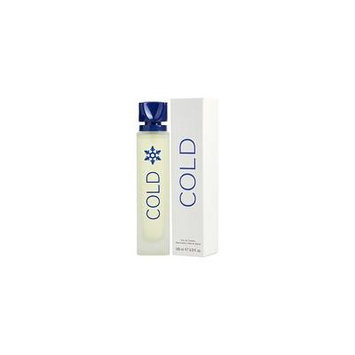 COLD by Benetton - EDT SPRAY 3.3 OZ (NEW PACKAGING) - MEN