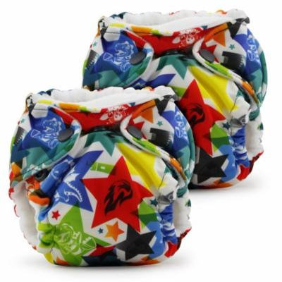 Kanga Care Lil Joey All In One Diaper 2 Pack, Dragons Fly