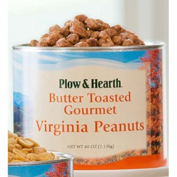 Flavored Extra Large Virginia Peanuts, 40 oz. Tin, in Butter Toasted