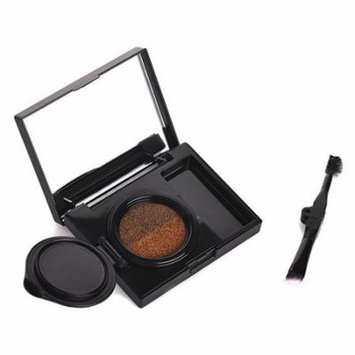 BEEZAN Double Color Air Cushion Eyebrow Cream Waterproof Smudge-proof Gel Eyeliner Eyebrow Beauty Makeup Enhancer With Brush