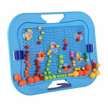Baby Early Childhood Mushroom Nails Jigsaw Platter Pegs Educational Toys
