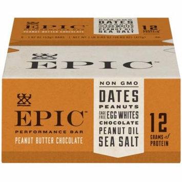 Epic Performance Bar Peanut Butter Choc Chip 9 ct Box, 16.83 oz