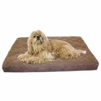 Carolina Pet 012320 Protector Pad Quilted Orthopedic Jamison Pet Bed - Chocolate, Small