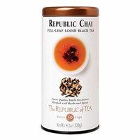 The Republic Of Tea Republic Chai Full-Leaf Black Tea, 4.2 Ounces / 50-60 Cups