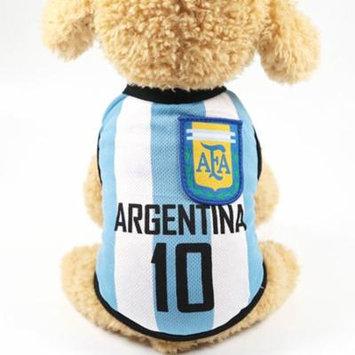 Pet Vest,Legendog Nation Team Name Printed Dog Casual Apparel Puppy Vest Pet Clothing for Soccer Games
