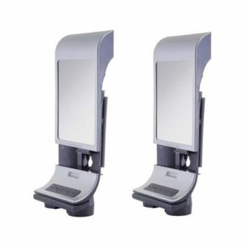 Zadro Z'Fogless LED Lighted Bluetooth Enabled Water Mirror (2-Pack)
