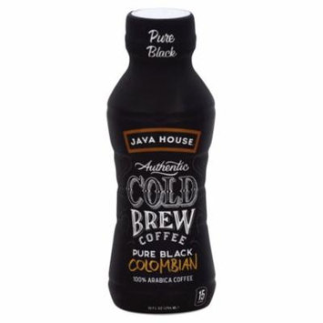 Java House® Authentic Cold Brew Coffee, Colombian Black, 10 Oz, 1 Count