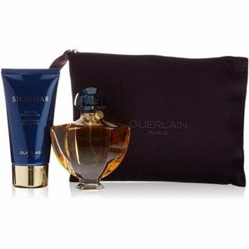 4 Pack - Guerlain 3 Pc. Set, Spray,Body Lotion & Toilet Bag 1 ea