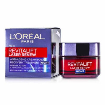 L'Oreal Revitalift Laser Renew Anti-Ageing Cream-Mask Recovery Treatment Night