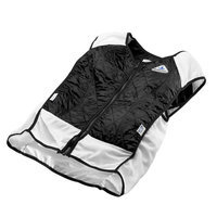 TechKewl Hybrid Sport Cooling Vest Black Small