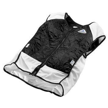 TechKewl Hybrid Sport Cooling Vest Black 2X-Large
