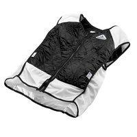 TechKewl Hybrid Sport Cooling Vest Black 3X-Large