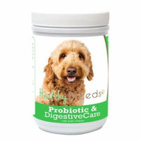 Healthy Breeds 840235164951 Goldendoodle Probiotic & Digestive Care Soft Chews for Dogs