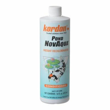 Kordon Pond NovAqua Instant Water Conditioner 16 oz - Pack of 3