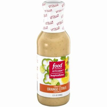Food Network Kitchen Inspirations Cuban Style Orange Citrus Vinaigrette 12 fl. oz. Bottle