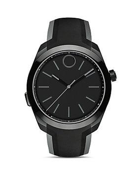 Movado 'Bold Motion' Smart Watch, 43mm - Black/ Black