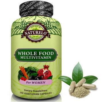 Naturelo Whole Food Multivitamin for Women - Vegan/Vegetarian - 240 Capsules
