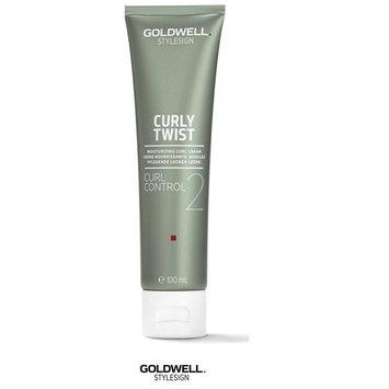 Goldwell Stylesign Curly Twist Curl Control 2 Moisturizing Curl Cream- 3.3oz (includes a Sleek Steel Pin Tail Comb)