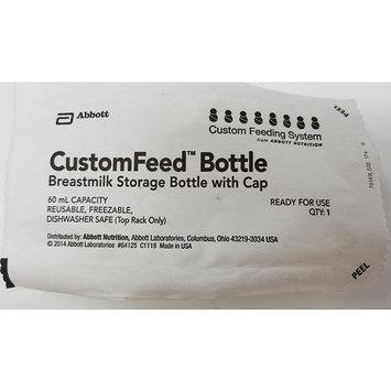 CUSTOMFEED BREASTMILK BOTTLE 60ML W/CAP case of 100